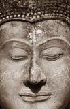 Face antiga de Buddha Foto de Stock