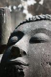 Face antiga de Buddha Fotografia de Stock Royalty Free