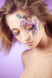 Face art Royalty Free Stock Photo