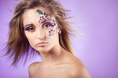 Face art Royalty Free Stock Photography