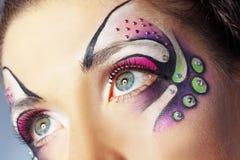 Face art Stock Photos