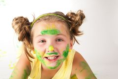 Face art Royalty Free Stock Image