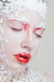 Face art Stock Photography