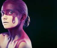 Face-arte creativa Imagem de Stock