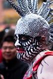 Face assustador Imagem de Stock Royalty Free