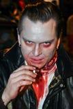 Face assustador Fotografia de Stock
