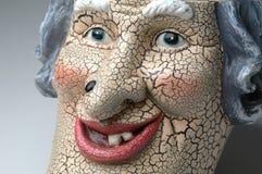 Face assustador Imagem de Stock