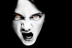 Face assustador sobrenatural Imagens de Stock