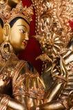 Face of Avalokiteshvara. Royalty Free Stock Images