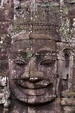 Face of Avalokitesvara in Bayon Temple, Cambodia Stock Photos