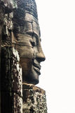 Face of bayon Stock Photos