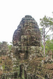 Face of Bayon Castle in Angkor Wat Angkor Thom Temple Siem Reap royalty free stock photo