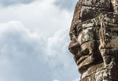 The Face of Bayon Royalty Free Stock Images