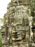Face of Bayon temple Stock Photo