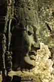 A face at Bayon Temple Stock Photo