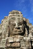Face at Bayon Temple Stock Photography