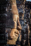 Face of Bayon temple, Angkor, Cambodia stock image