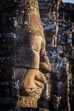 Face of Bayon temple, Angkor, Cambodia Stock Image