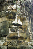 Face of Bayon temple, Cambodia Stock Photo