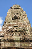 Face of Bayon temple Stock Image