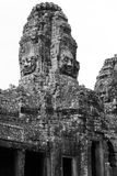 Face of Bayon Temple Towers - Angkor Royalty Free Stock Photo