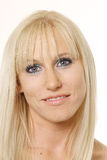 Face of beautiful blonde Stock Photo