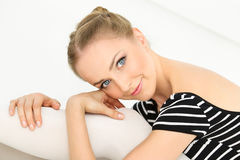Face of beautiful girl Royalty Free Stock Photography