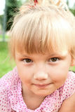 Face of beautiful litle girl Royalty Free Stock Photography