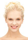 Face of beautiful teenage girl Royalty Free Stock Images