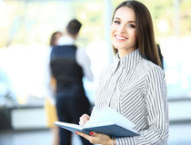 Face of beautiful woman on the background of Stock Images