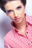Face of a beautiful woman Royalty Free Stock Images