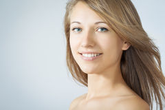 Face of a beautiful woman Stock Image