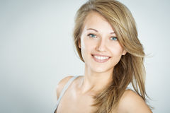 Face of a beautiful woman Stock Images