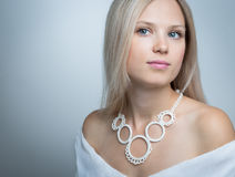 Face of a beautiful woman Royalty Free Stock Image