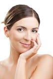 Face beauty Stock Photos