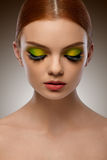 Face Beauty. Fashion Woman With Makeup Portrait. High Quality Im Royalty Free Stock Photos
