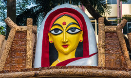 Face of Bengali woman Royalty Free Stock Images