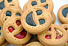 Face biscuits Royalty Free Stock Image