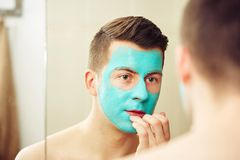 Face and body skin care treatment Stock Images