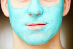 Face and body skin care treatment Stock Photo
