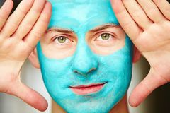Face and body skin care treatment Royalty Free Stock Images