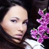 Face bonita fotografia de stock royalty free