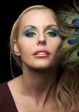 Face bonita Fotografia de Stock