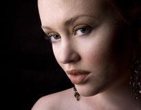 Face bonita Imagem de Stock