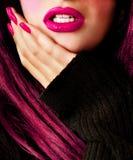 Face bonita Foto de Stock