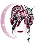 Face bonita Imagem de Stock Royalty Free