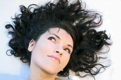 Face bonita da mulher Imagens de Stock Royalty Free