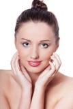 Face bonita da mulher imagem de stock royalty free