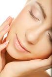 Face bonita da mulher da saúde Imagens de Stock Royalty Free
