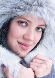 Face bonita da mulher nova imagens de stock
